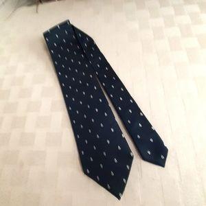 Dolce & Gabbana  Silk Navy Tie